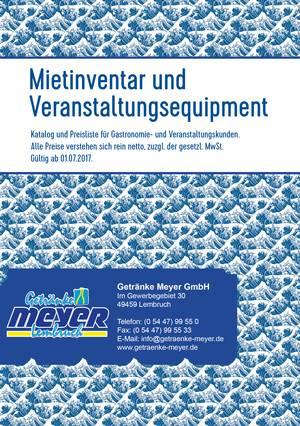 Atemberaubend Meyer Getränke Galerie - Die besten Einrichtungsideen ...
